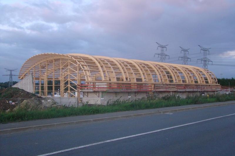 roissy en brie gymnase belliard construction